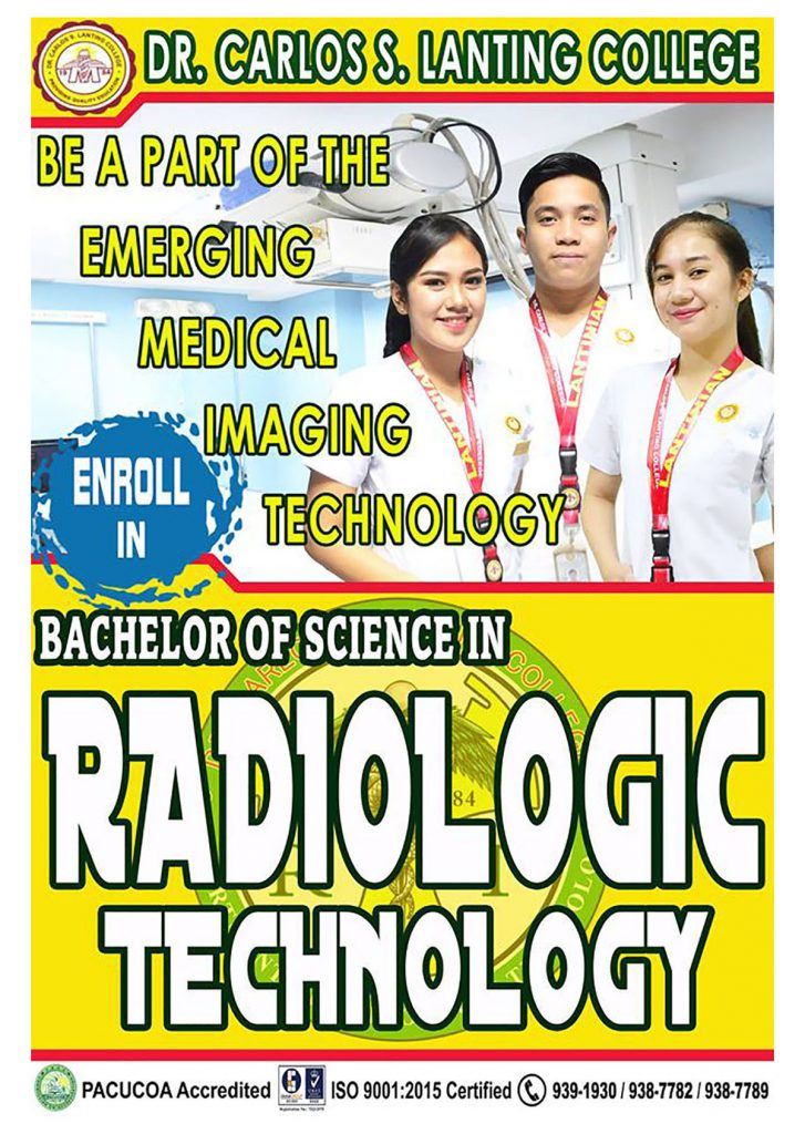 Radiologic Technology Department - Dr. Carlos S. Lanting College | Official  Website